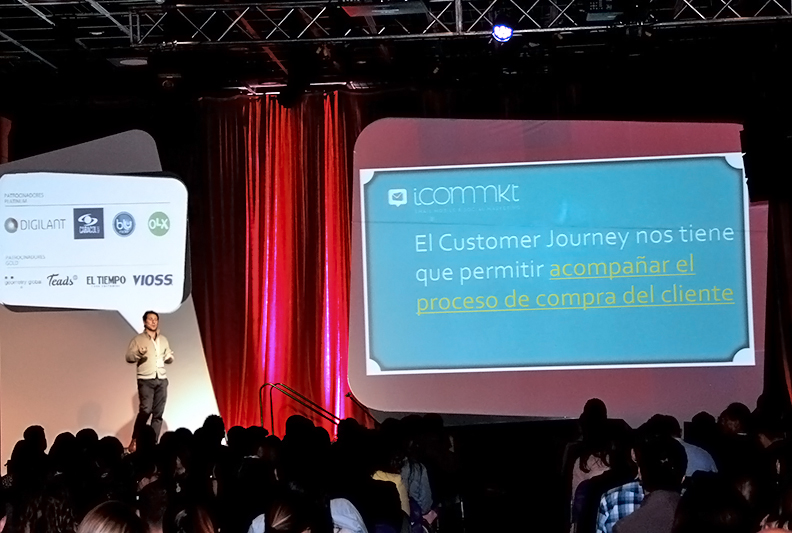 Faigenbom de ICOMMKT speaker del IABDay 2017, Colombia