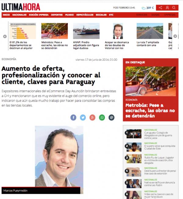 Última Hora Paraguay & ICOMMKT