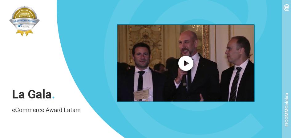 ICOMM premiacion ecommerce Award
