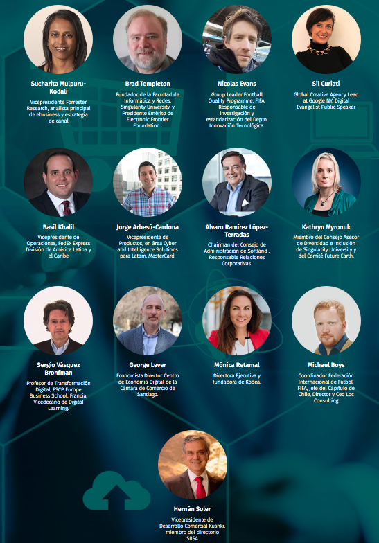 Innovation Summit 2019 - oradores. ICOMM