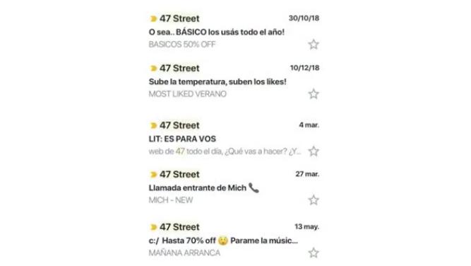 47 street - asuntos y contenidos