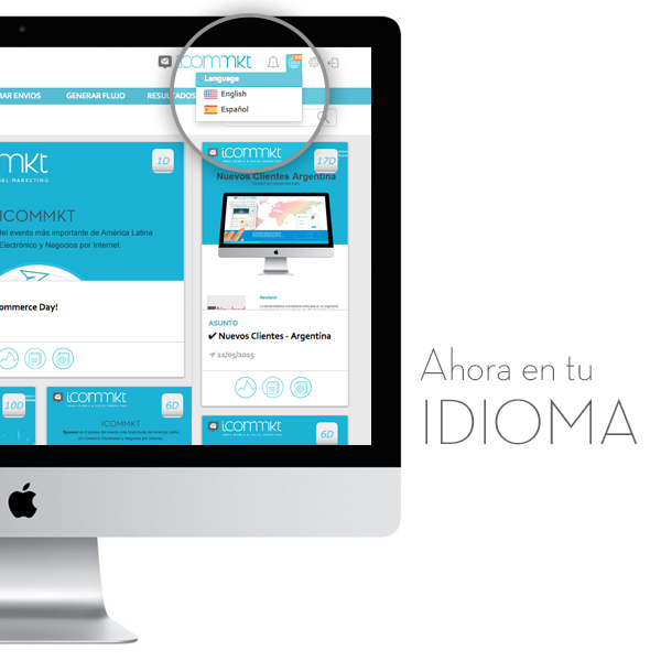 ICOMMKT - Ahora en tu Idioma