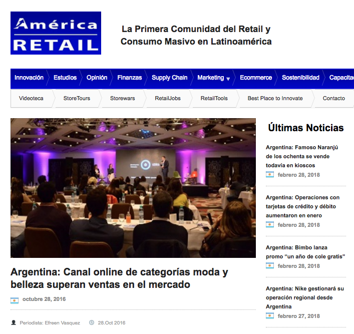 América Retail ICOMMKT