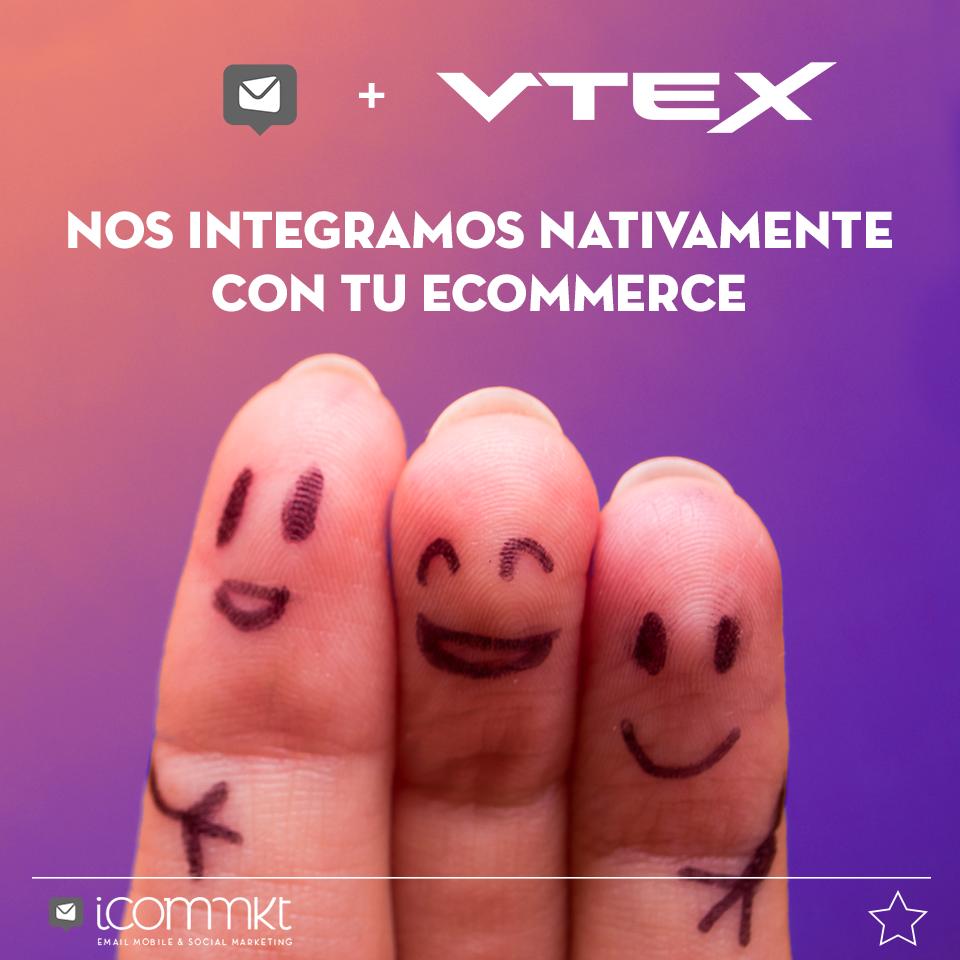 Integración ICOMMKT + VTEX