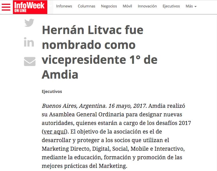 InfoWeek ICOMMKT AMDIA