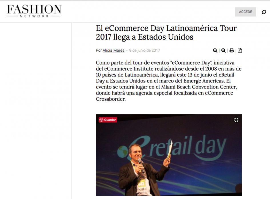 Fashion Network Colombia ICOMMKT