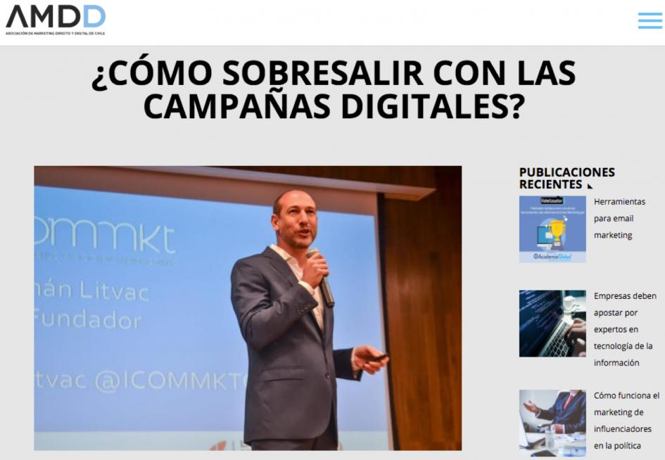 AMDD Chile & ICOMMKT