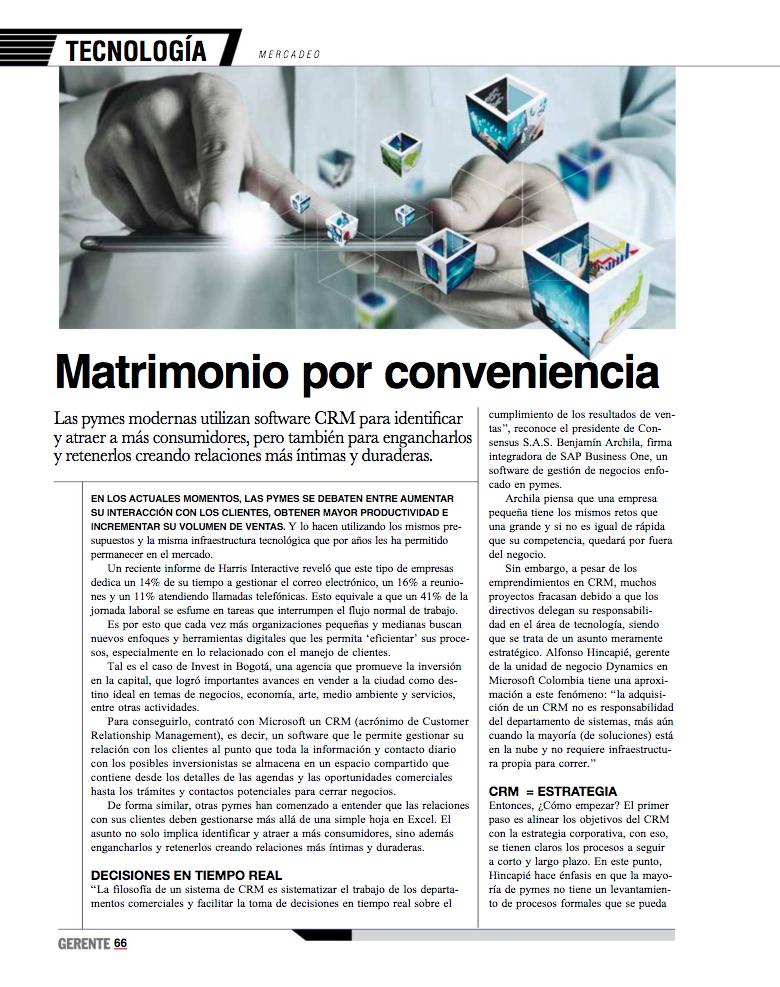 Revista Gerente & ICOMMKT