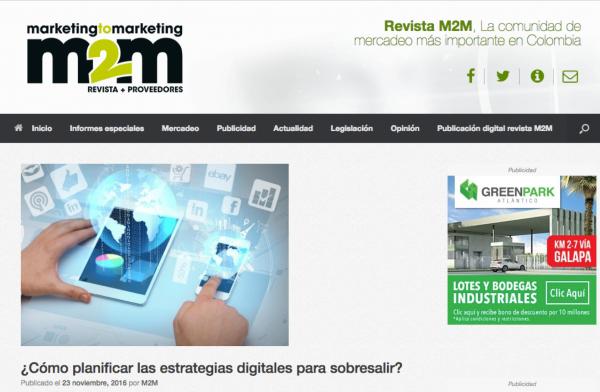 Revista M2M & ICOMMKT