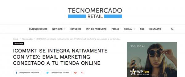 Tecnomercado Retail ICOMMKT