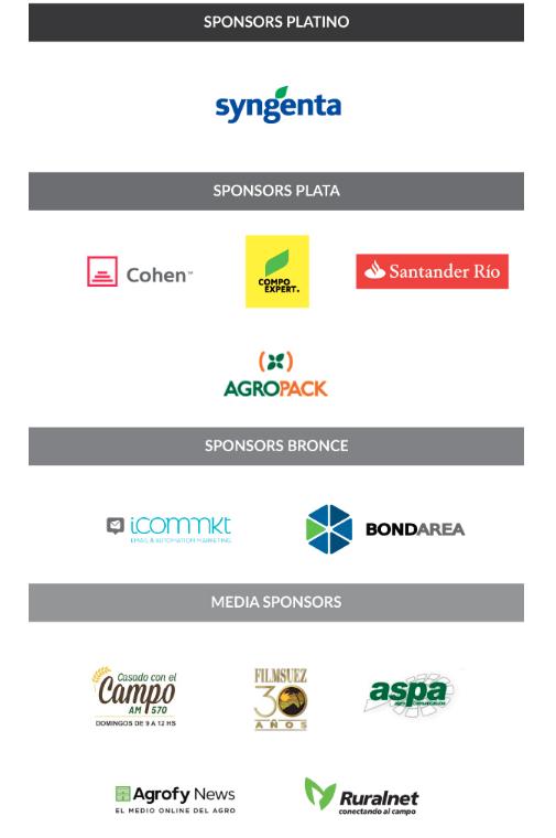 Sponsors Argentina Vison 2020 ICOMMKT