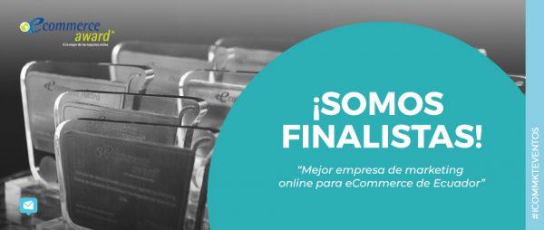 ICOMMKT finalista ecommerce award ecuador