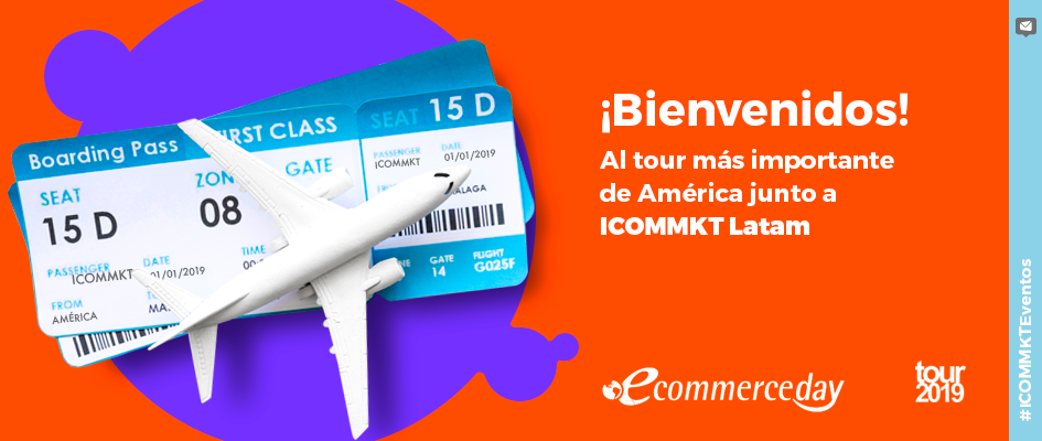 eCommerce Day tour 2019 ICOMMKT